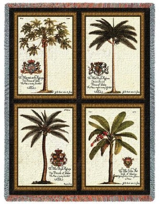 Royal Palms (Tapestry Throw)