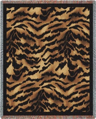 Tiger Skin (Tapestry Throw)