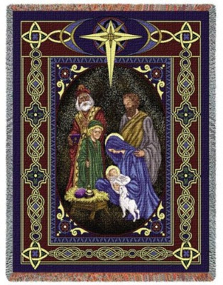 Nativity (Tapestry Throw)