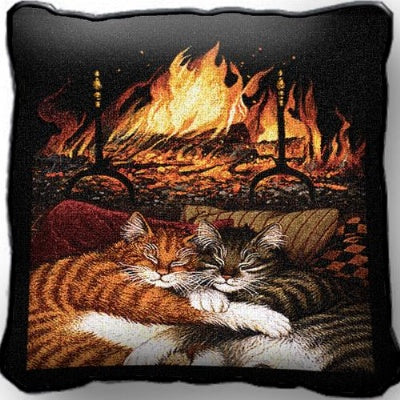 All Burned Out Pillow (Pillow)