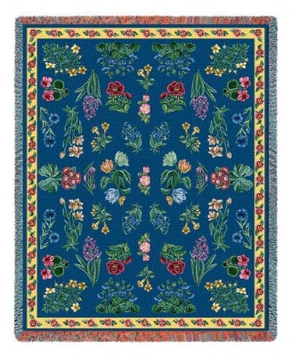 Greysons Floral (Tapestry Throw)