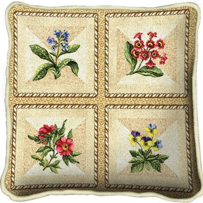 French Floral Pillow (Pillow)