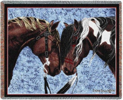 Warriors Truce Tapestry (Tapestry Throw)