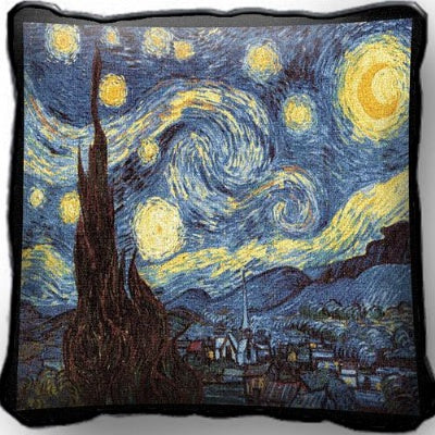 Starry Night Pillow (Pillow)