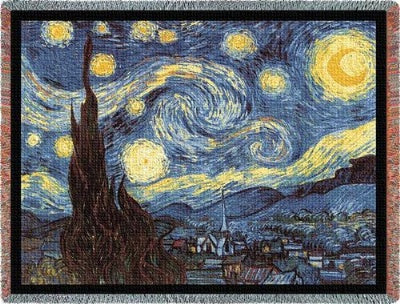 Starry Night (Tapestry Throw)