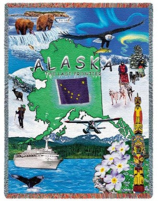 Alaska Tap (Tapestry Throw)