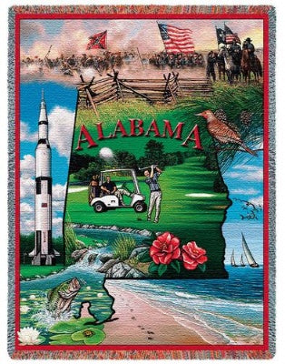 Alabama Tap (Tapestry Throw)