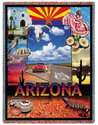 Arizona Tap (Tapestry Throw)