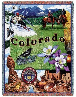 Colorado (Tapestry Throw)