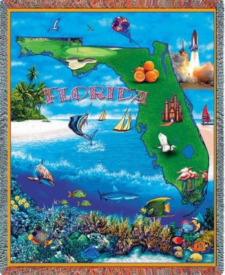 Florida (Tapestry Throw)