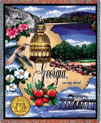 Georgia (Tapestry Throw)