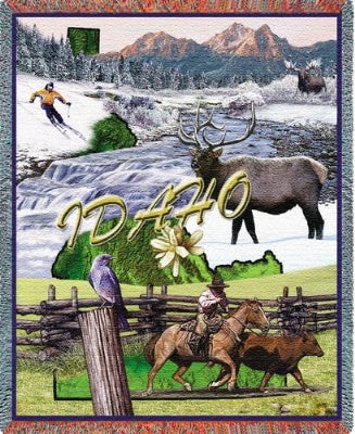 Idaho Tapestry (Tapestry Throw)