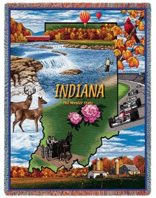 Indiana Tap (Tapestry Throw)