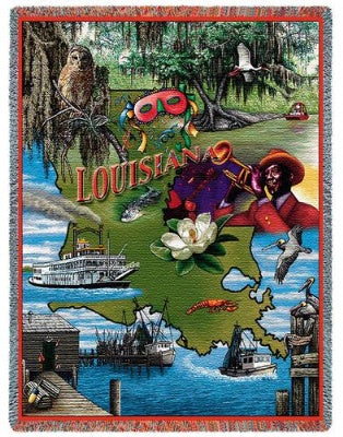 Louisiana Tap (Tapestry Throw)