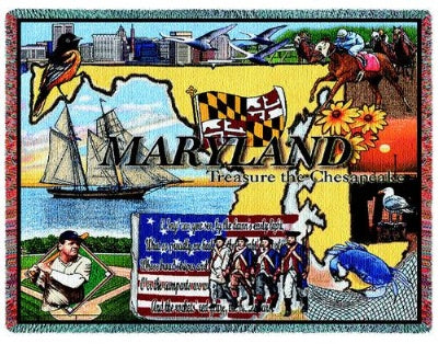 Maryland Tapestry (Tapestry Throw)