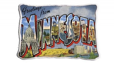 Greetings From Mn (Pillow)