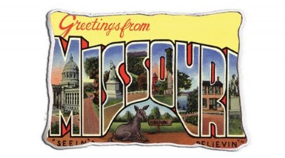 Greetings From Missouri (Pillow)