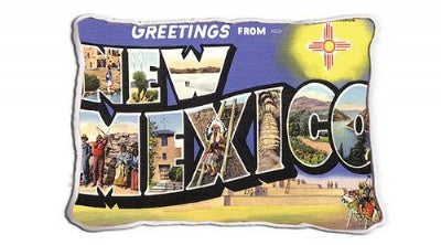 Greetings From Nm (Pillow)