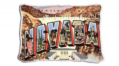 Greetings From Nevada (Pillow)