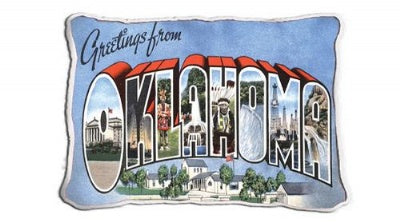 Greetings From Ok (Pillow)