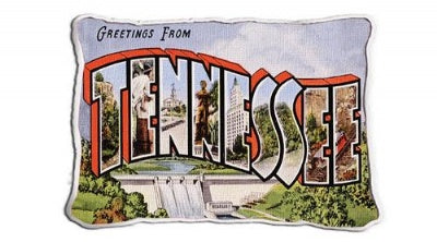 Greetings from Tennessee (Pillow)