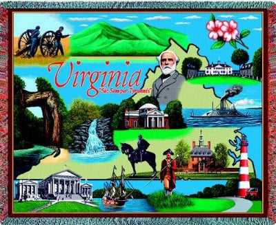 Virginia (Tapestry Throw)