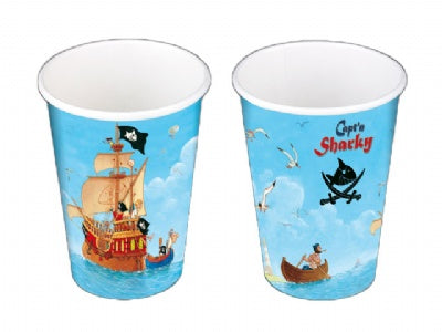 Capt'n Sharky Party Cups
