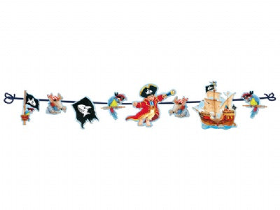 Capt'n Sharky Party Garland