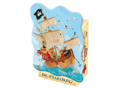 Capt'n Sharky Pirate Boat Mini-Puzzle