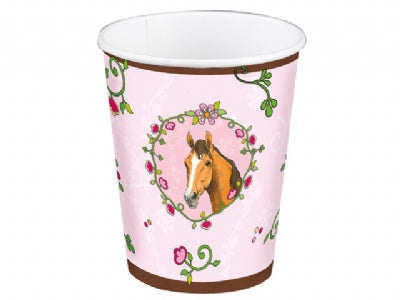 Horse Friends Birthday Party Cups