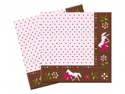 Horse Friends Bithday Party Napkins