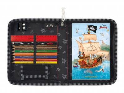 Capt'n Sharky Traveling Art Set