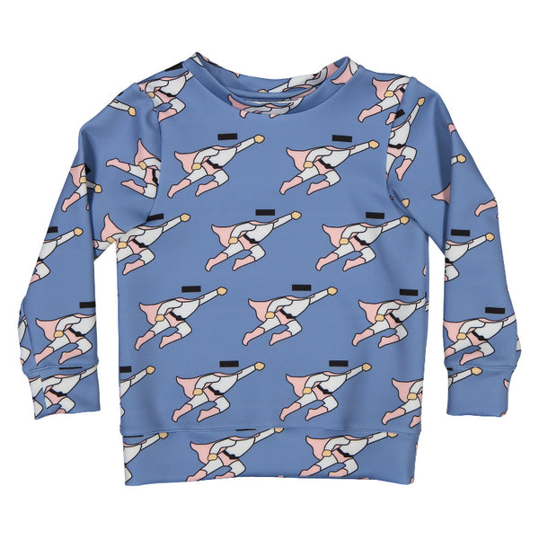 Hope Superman Sweater - Blue