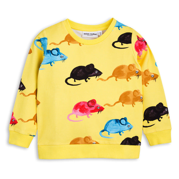 Mr Mouse Sweatshirt - Yellow