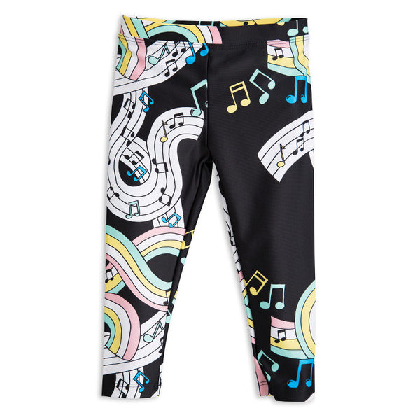 Melody Fancy Leggings - Black