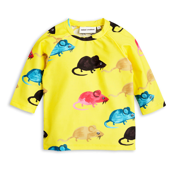 Mr Mouse UV Top - Yellow