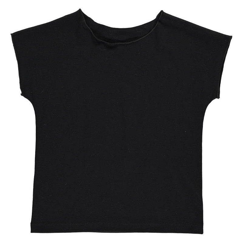 Martha Short Sleeve Tee - Black