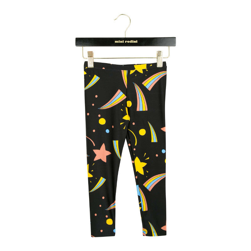 Space Leggings - Black