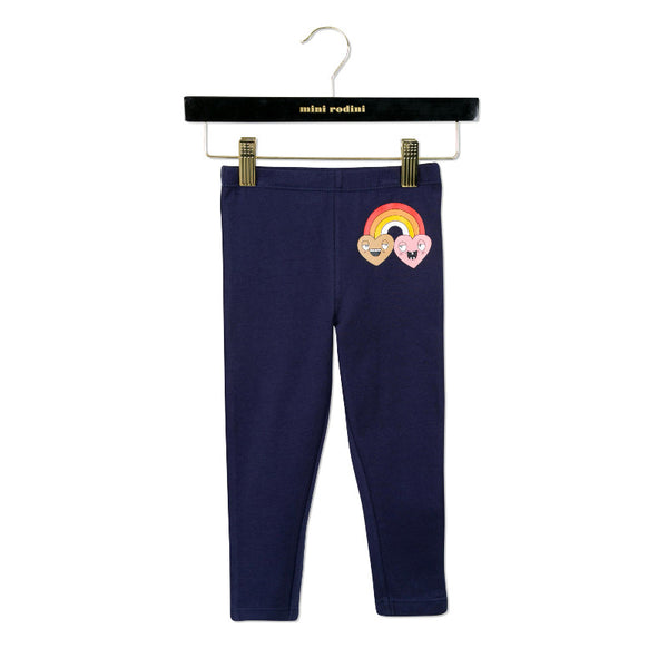 Rainbow Leggings - Dark Blue
