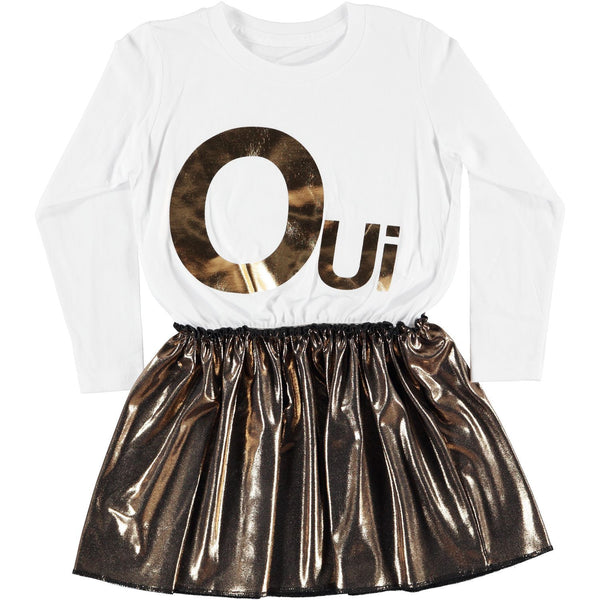 Long Sleeve Tee Dress - Oui