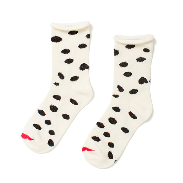 Mini Dalmation Crew Socks