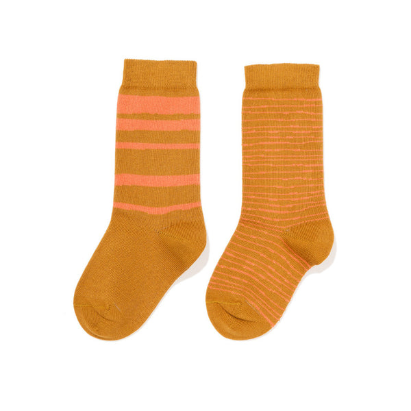 Horizon Striped Crew Socks