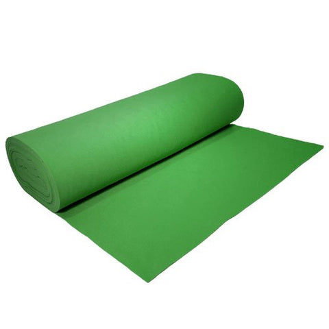 "Acrylic Felt by the Yard 72"" Wide X 10 YD Long: Emerald Green"