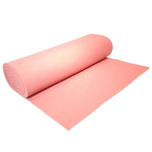 "Acrylic Felt by the Yard 72"" Wide X 1 YD Long: Light Pink"