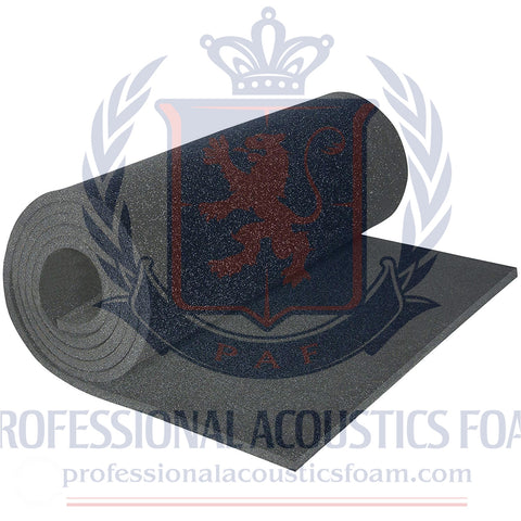 "Soundproofing Acoutical Foam Sheet- 1/2 x 49""x 83"" Medium Density Support-Premium Quality- Sofa Cushion, Mattresses, Wheelchair, Poker Table"