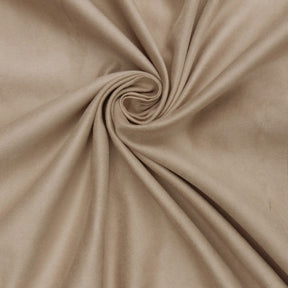 "Microfiber Suede Upholstery Cashmere Micro fake Faux Drapery Fabric sold by the yard 60"" Wide"