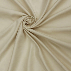 "Microfiber Suede Upholstery Creme Micro fake Faux Drapery Fabric sold by the yard 60"" Wide"