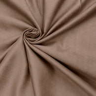 "Microfiber Suede Upholstery Natural Micro fake Faux Drapery Fabric sold by the yard 60"" Wide"