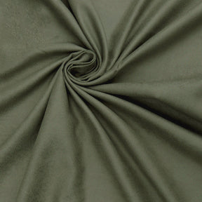 "Microfiber Suede Upholstery Olive Micro fake Faux Drapery Fabric sold by the yard 60"" Wide"