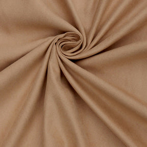"Microfiber Suede Upholstery Pecan Micro fake Faux Drapery Fabric sold by the yard 60"" Wide"